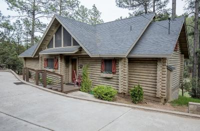 Strawberry Single Family Home For Sale: 4863 W Fossil Creek Road