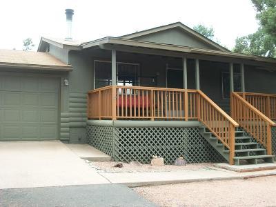 Payson Single Family Home For Sale: 8 W Vista Del Norte