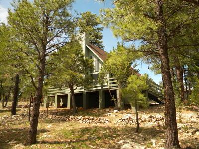 Happy Jack Single Family Home For Sale: 4946 Saddle Blanket Circle