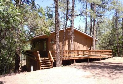 Pine AZ Single Family Home For Sale: $237,000
