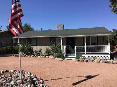 Payson Single Family Home For Sale: 8152 W Gunsight Ridge