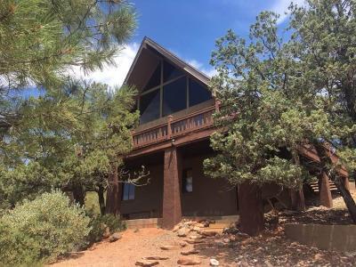 Pine Single Family Home For Sale: 4558 N Mogollon Way