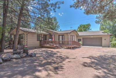 Strawberry Single Family Home For Sale: 8475 W Fossil Creek Road