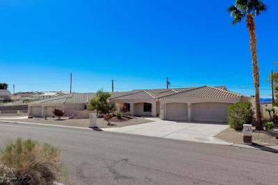 Lake Havasu City AZ Single Family Home For Sale: $795,000
