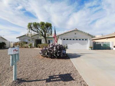 Lake Havasu City Single Family Home For Sale: 3863 Bluegrass Dr
