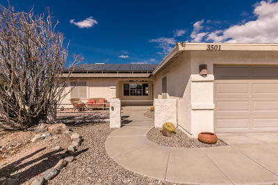 Lake Havasu City Single Family Home For Sale: 3501 Desert Garden Dr