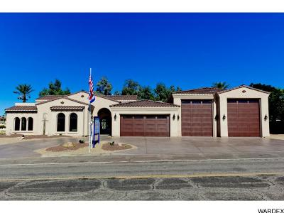 Lake Havasu City AZ Single Family Home For Sale: $1,190,000