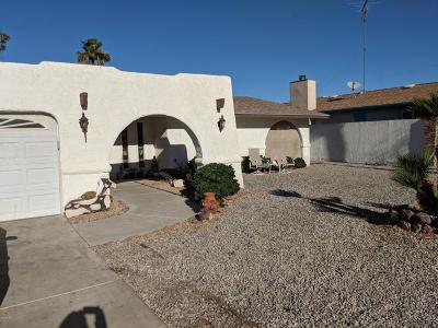 Lake Havasu City AZ Single Family Home For Sale: $228,500
