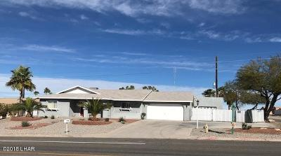 Lake Havasu City Single Family Home For Sale: 2897 N Palo Verde Blvd