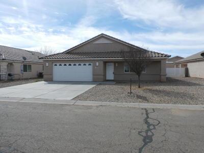 Kingman Single Family Home For Sale: 3820 E Suffock Ave