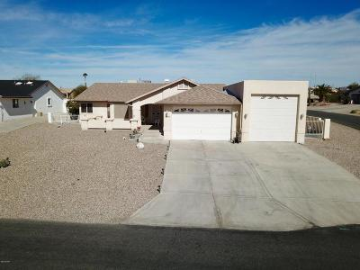 Lake Havasu City Single Family Home For Sale: 3395 Poppy Trail Dr