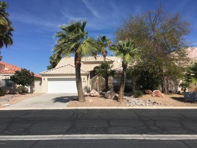Fort Mohave Single Family Home For Sale: 2051 E Los Lagos Dr