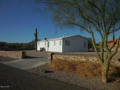 Quartzsite Single Family Home For Sale: 49784 Rainbow Ave Ave