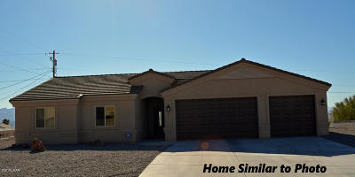 Lake Havasu City Single Family Home For Sale: 1108 On Your Level Lot