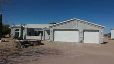 Yucca Single Family Home For Sale: 16329 S Bert Ave