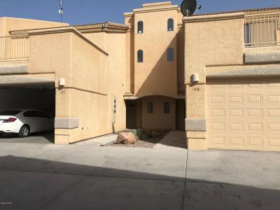 Lake Havasu City Condo/Townhouse For Sale: 3470 Kearsage Dr #A107