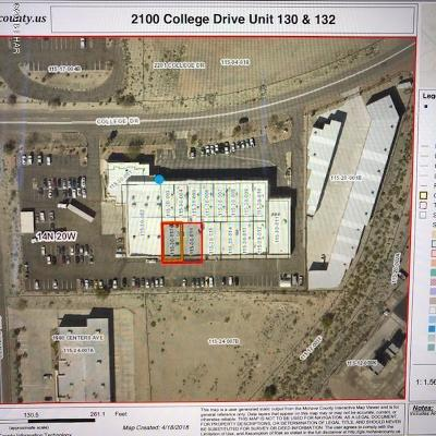 Lake Havasu City Commercial For Sale: 2100 College Dr #132