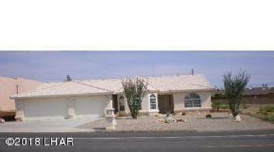 Lake Havasu City Single Family Home For Sale: 3380 Jamaica