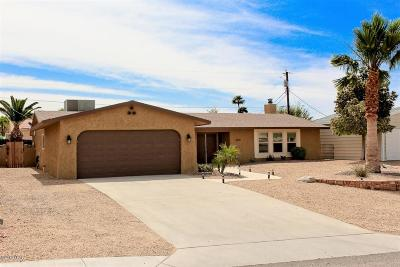 Lake Havasu City Single Family Home For Sale: 3808 N Mission Dr