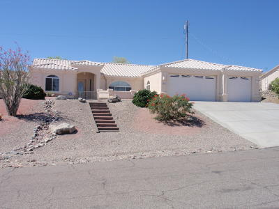 Lake Havasu City Single Family Home For Sale: 3721 Canyon Cove Dr