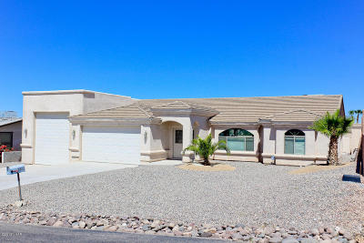 Lake Havasu City Single Family Home For Sale: 3827 Breakwater Dr