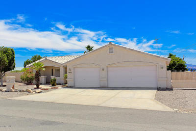 Lake Havasu City Single Family Home For Sale: 3072 Hidden Valley Dr