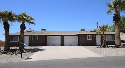 Lake Havasu City Multi Family Home For Sale: 3189 Desert View Ct