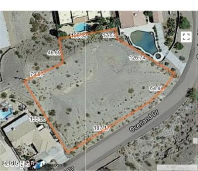 Lake Havasu City Residential Lots & Land For Sale: 3561 Overland Dr