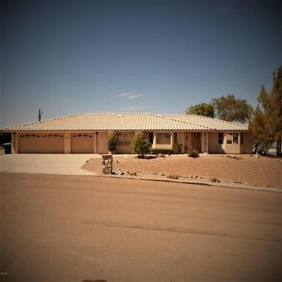 Lake Havasu City Single Family Home For Sale: 3290 Hidden Valley Dr
