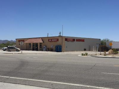 Quartzsite Commercial For Sale: 775 W Main St