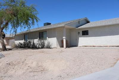 Lake Havasu City AZ Single Family Home For Sale: $325,000