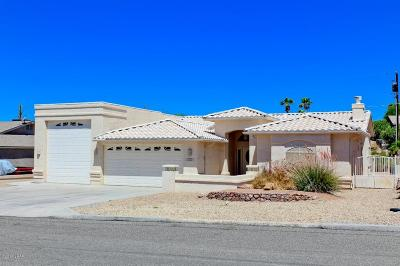 Lake Havasu City AZ Single Family Home For Sale: $531,000