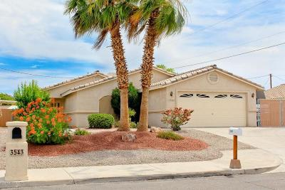 Lake Havasu City Single Family Home For Sale: 3547 Challenger Dr