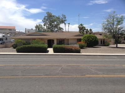 Lake Havasu City Single Family Home For Sale: 2200 Jamaica Blvd S