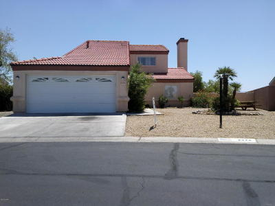 Bullhead City Single Family Home For Sale: 2376 Acoma Dr