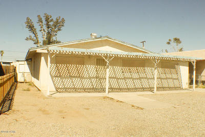 Single Family Home For Sale: 1805 S Mohave Ave