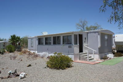 Salome Manufactured Home For Sale: 66651 Senora Dr