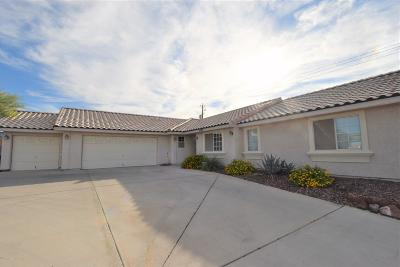 Lake Havasu City Single Family Home For Sale: 2390 Smoketree Ave N
