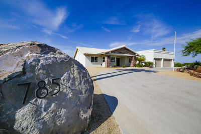 Lake Havasu City Single Family Home For Sale: 785 Little Dr