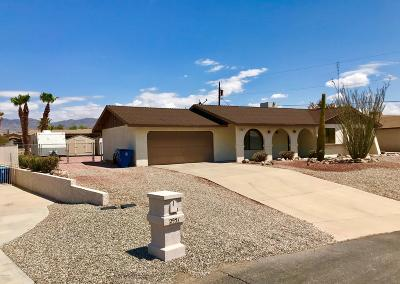 Lake Havasu City Single Family Home For Sale: 2961 Indian Springs Dr