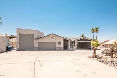 Lake Havasu City Single Family Home For Sale: 1984 Palo Verde Blvd N