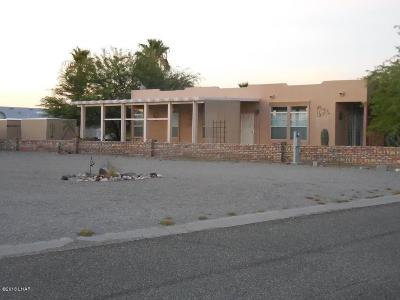 Quartzsite Single Family Home For Sale: 49695 Felspar