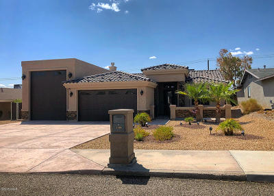 Lake Havasu City Single Family Home For Sale: 2703 Smoketree Ave N