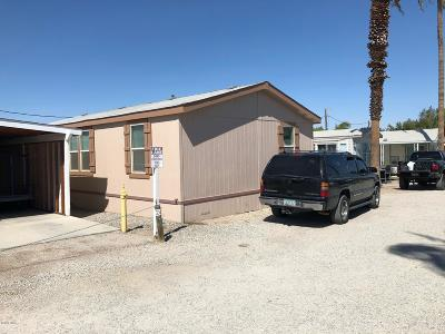 Ehrenberg Manufactured Home For Sale: 50238 Ehrenberg Poston Hwy #224