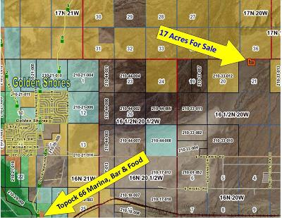Topock Residential Lots & Land For Sale: 17 Acres Sterling/Topock Area Ln