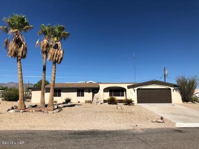Lake Havasu City Single Family Home For Sale: 470 Hornet Dr