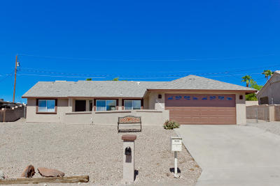 Lake Havasu City AZ Single Family Home For Sale: $259,900