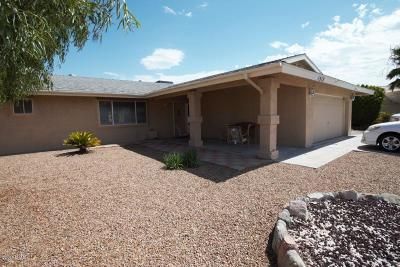 Lake Havasu City AZ Single Family Home For Sale: $364,500