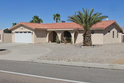 Lake Havasu City Single Family Home For Sale: 3139 Kiowa Blvd S
