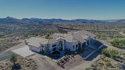 Kingman Single Family Home For Sale: 4080 E Lazy Y U Dr